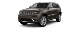 Walnut Brown Metallic Clear-Coat 2018 Jeep Grand Cherokee at an Angle