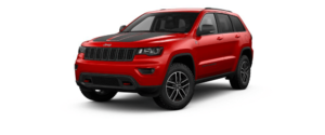 Redline 2 Coat Pearl 2018 Jeep Grand Cherokee at an Angle