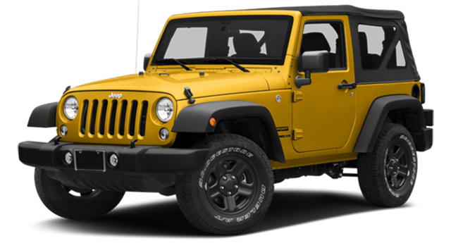 2018 Jeep Wrangler Yellow