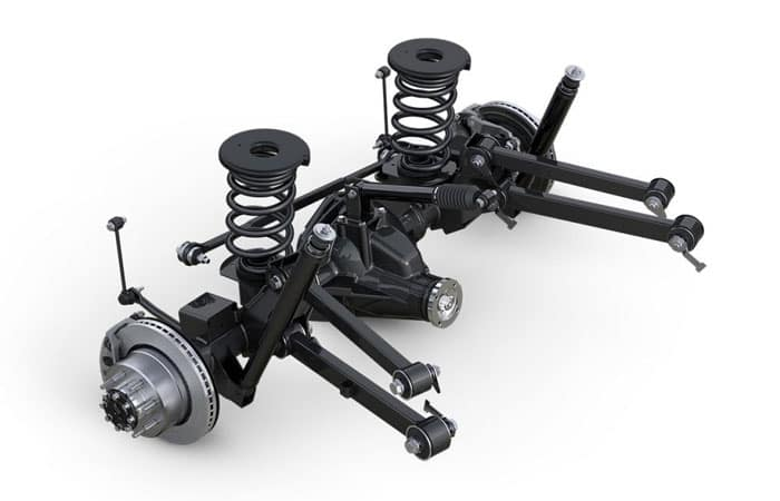 2018 Ram 2500 Five Link Suspension