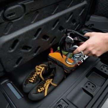 2018 Jeep Wrangler JK storage space