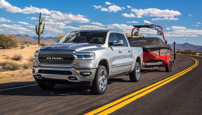 2019 Ram 1500 Towing Capability