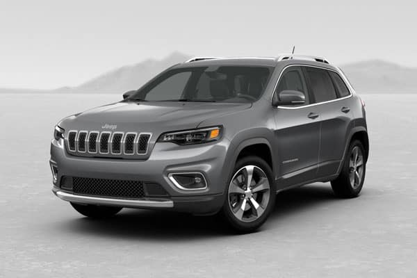 2019 Jeep Cherokee Billet Silver Metallic Clearcoat