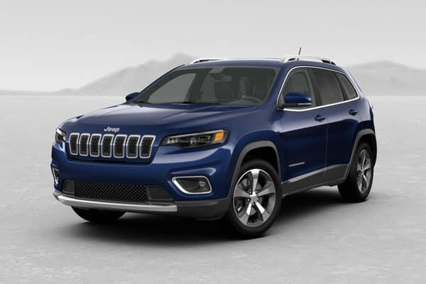 2019 Jeep Cherokee Blue Shade Pearlcoat