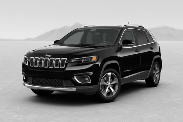 2019 Jeep Cherokee Diamond Black Crystal Pearlcoat
