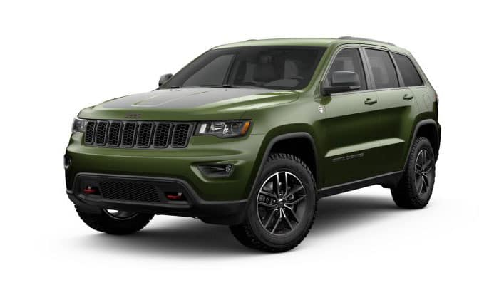 2019 Jeep Grand Cherokee Green Metallic Clear-Coat