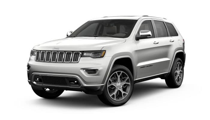 2019 Jeep Grand Cherokee Ivory Tri-Coat