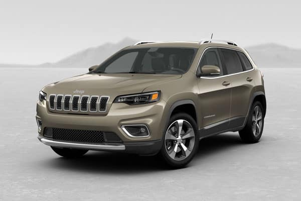 2019 Jeep Cherokee Light Brownstone Pearlcoat