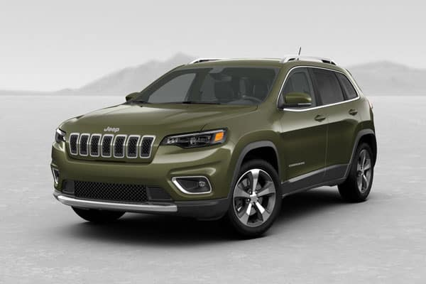 2019 Jeep Cherokee Olive Green Pearlcoat