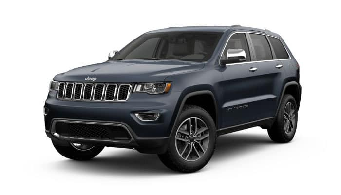 2019 Jeep Grand Cherokee Slate Blue Pearl-Coat