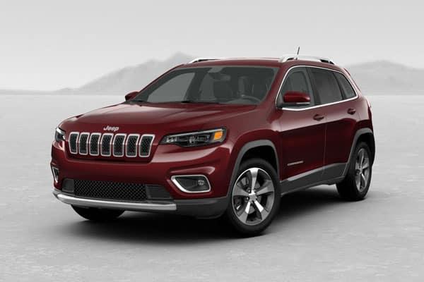 2019 Jeep Cherokee Velvet Red Pearlcoat