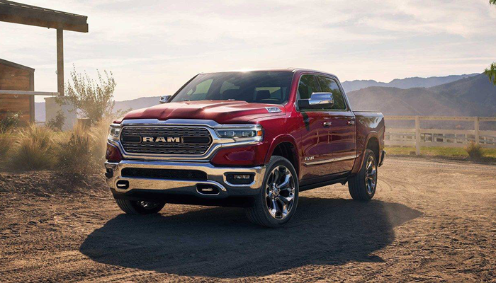 2019 Ram 1500 Parked on Dirt Road