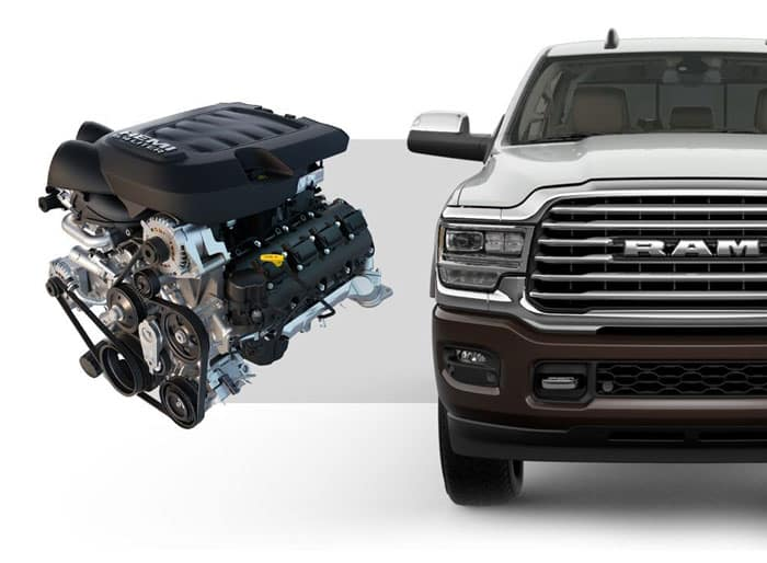 2019 Ram 2500 Engine View