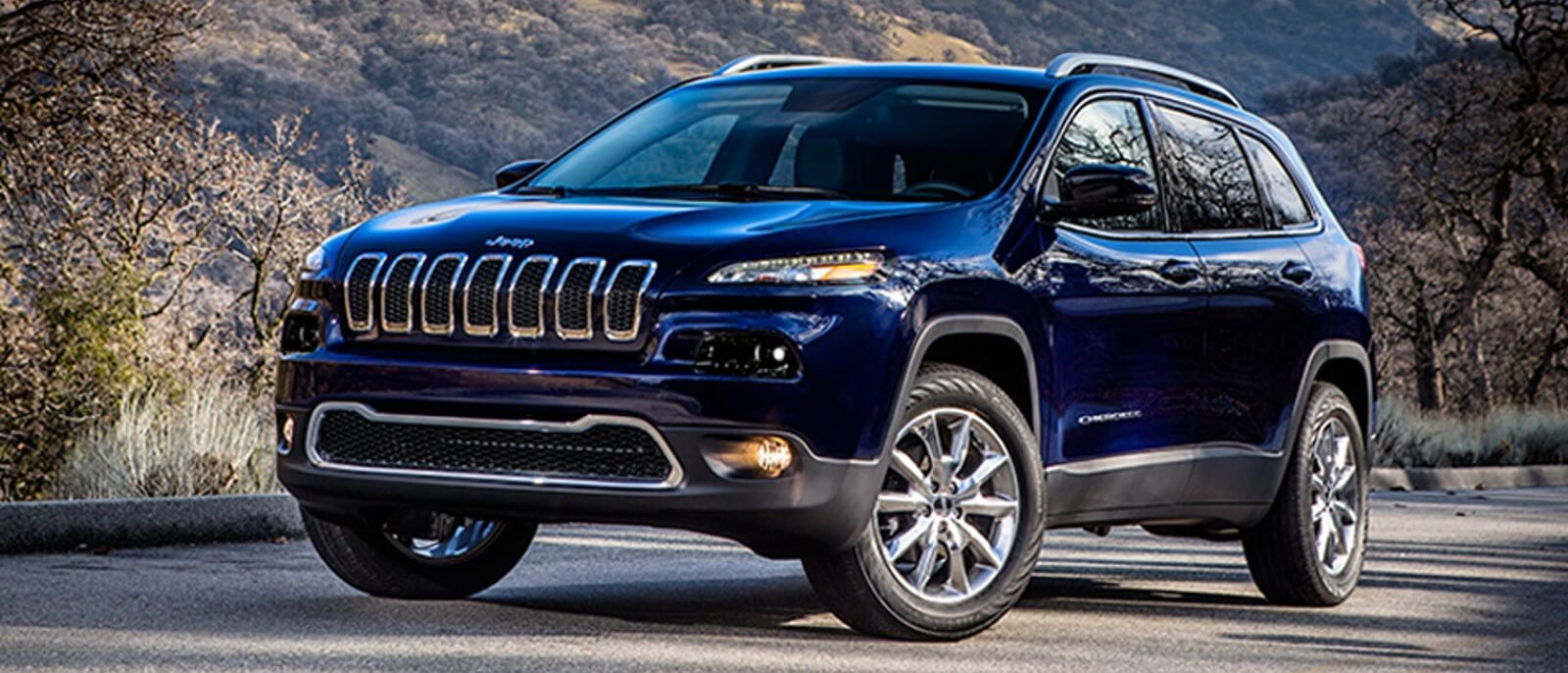 2015 Jeep Cherokee parked