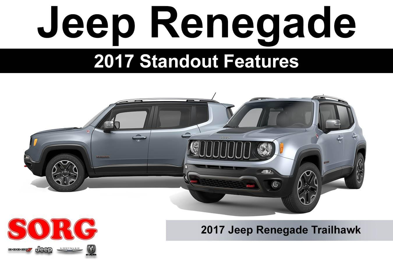 2017 Jeep Renegade Standout Features