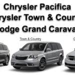 Chrysler Pacifica, Chrysler Town & Country, Dodge Grand Caravan