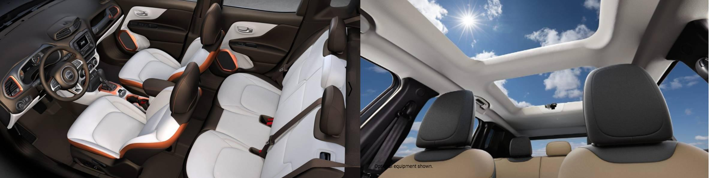 Renegade Interior / Sunroof