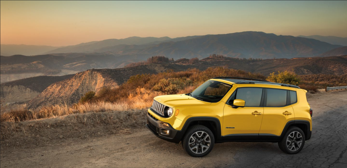 All New 2017 Jeep Renegade