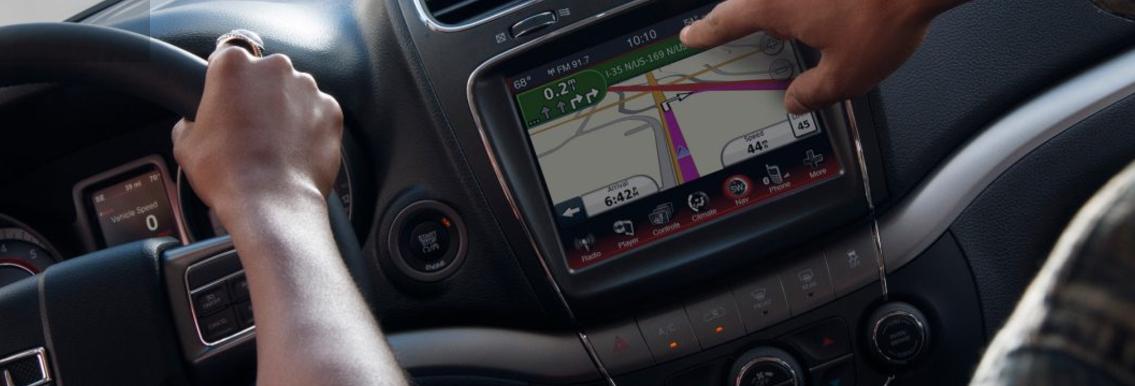 2017 Dodge Journey 8.4 Navigation