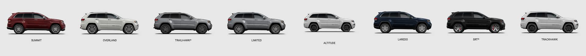 All New 2018 Jeep Grand Cherokee Models