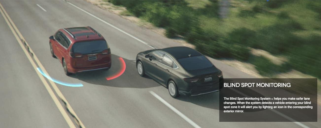 2018 Chrysler Pacifica Blind Spot Monitoring