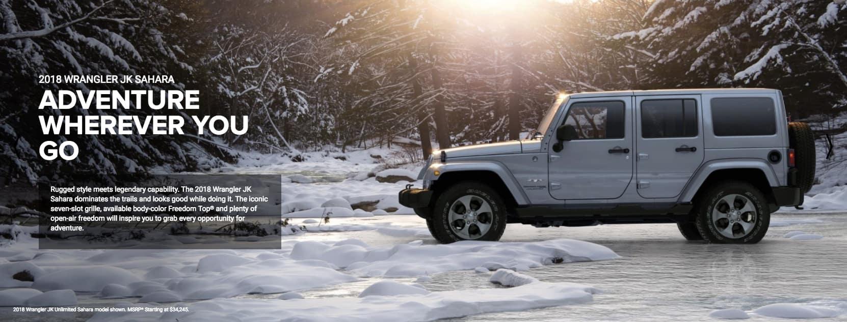 2018 Jeep Wrangler JK Sahara Unlimited