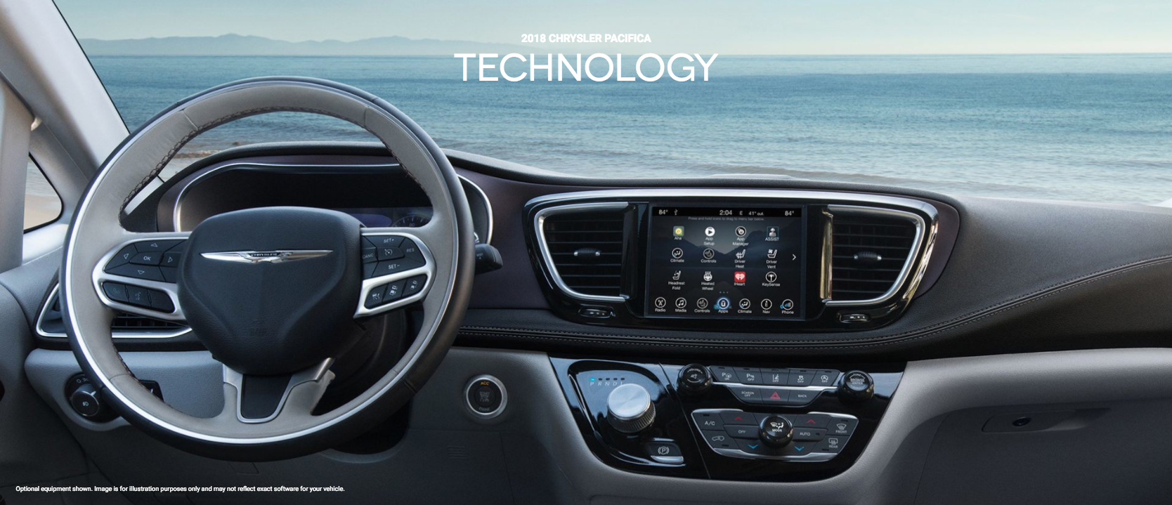 2018 Chrysler Pacifica Technology