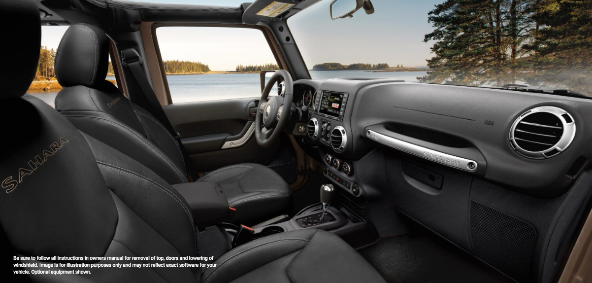 2018 Jeep Wrangler / Jeep Wrangler Unlimited JK JL Interior