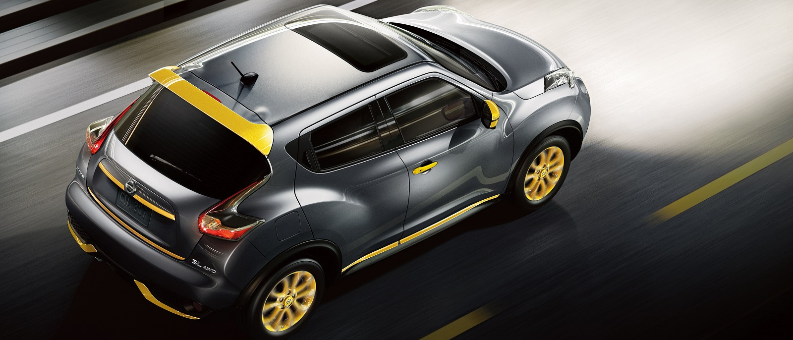 2016 Nissan Juke Gun Metallic Top
