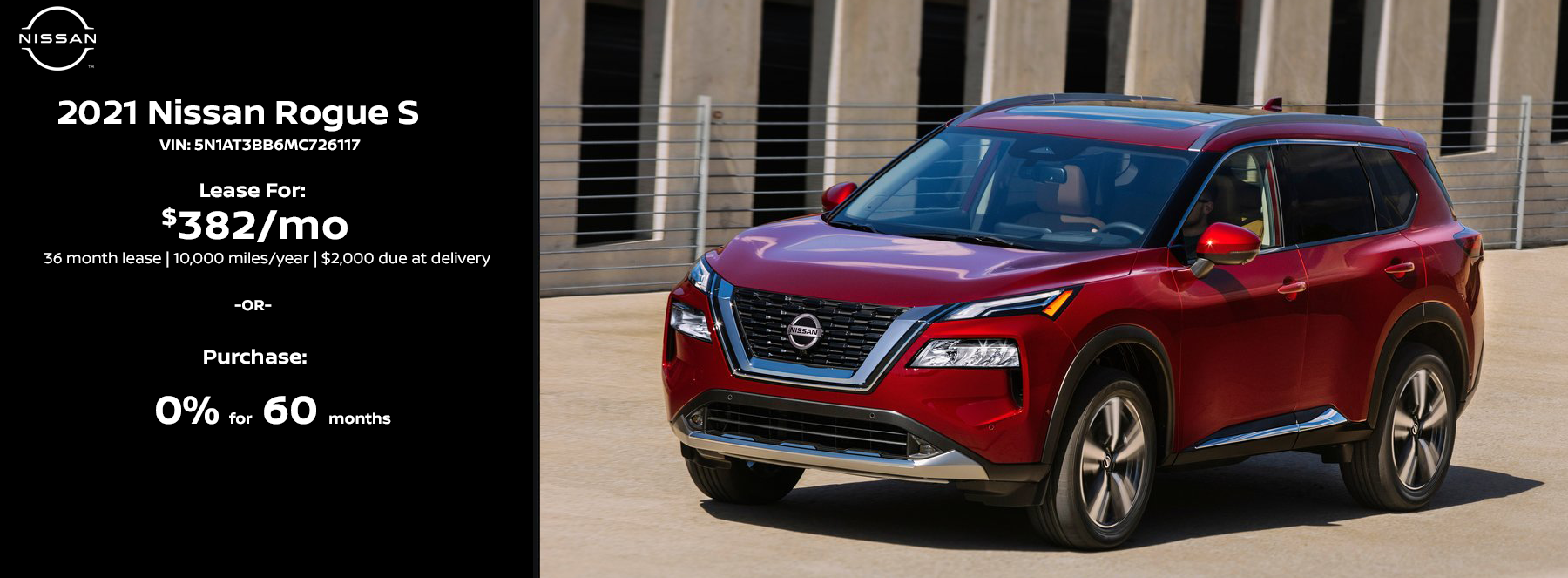 2021 Nissan Rogue Specials in Warsaw, Indiana