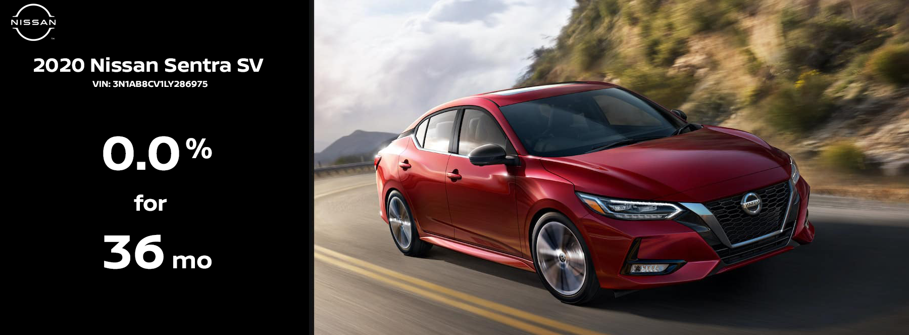 2020 Nissan Sentra Sell Down