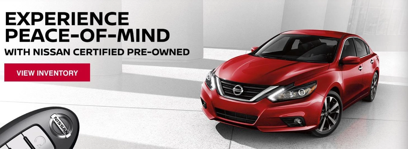 Nissan Certified Pre-Owned Vehicles