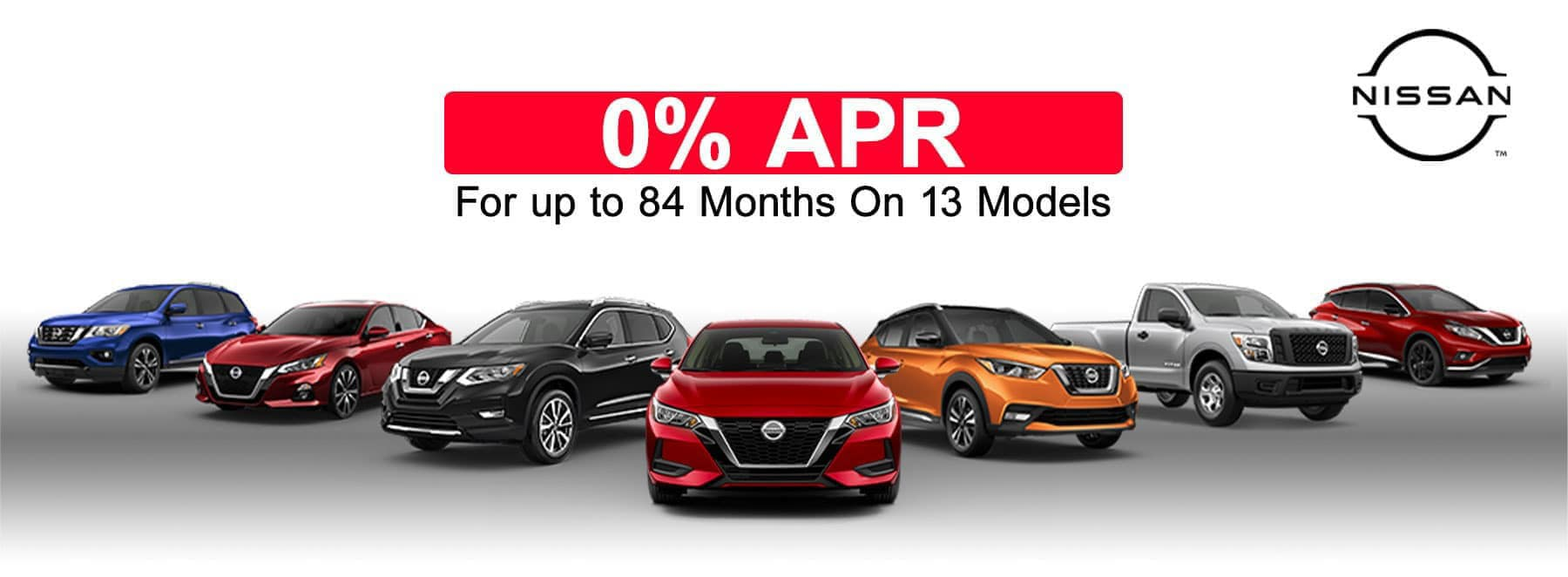 0% for up to 84 months