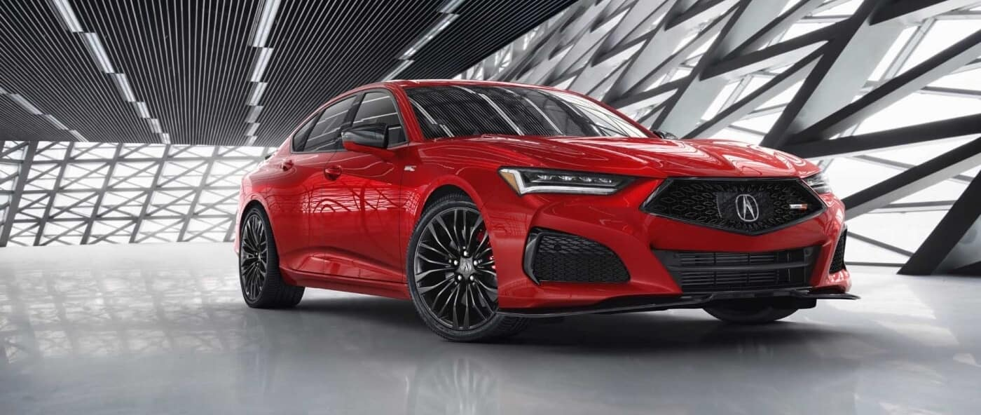 2021 Acura TLX, Red Exterior