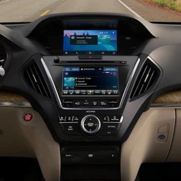 2020 Acura MDX Dash