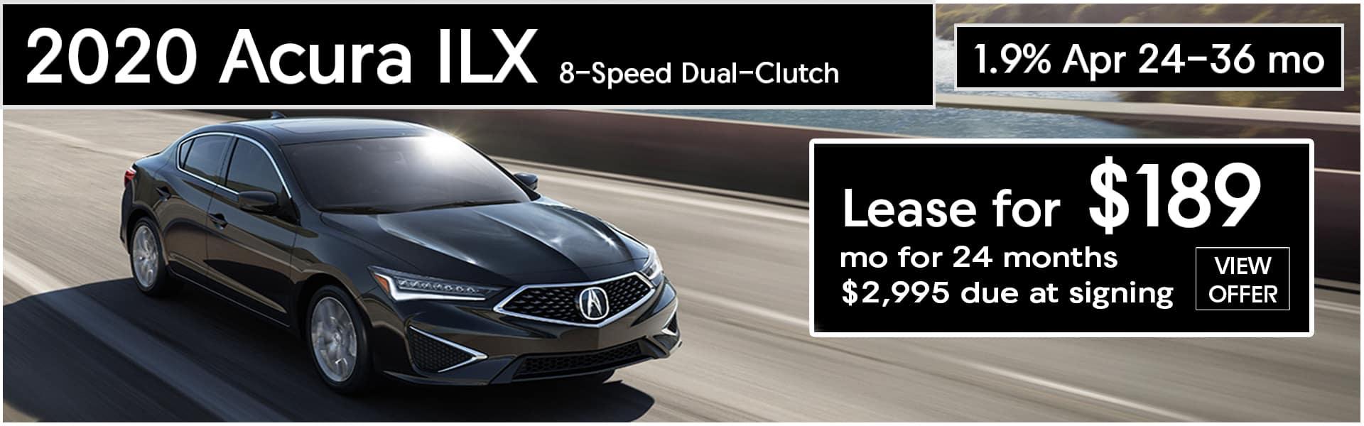 2020 Acura ILX Lease