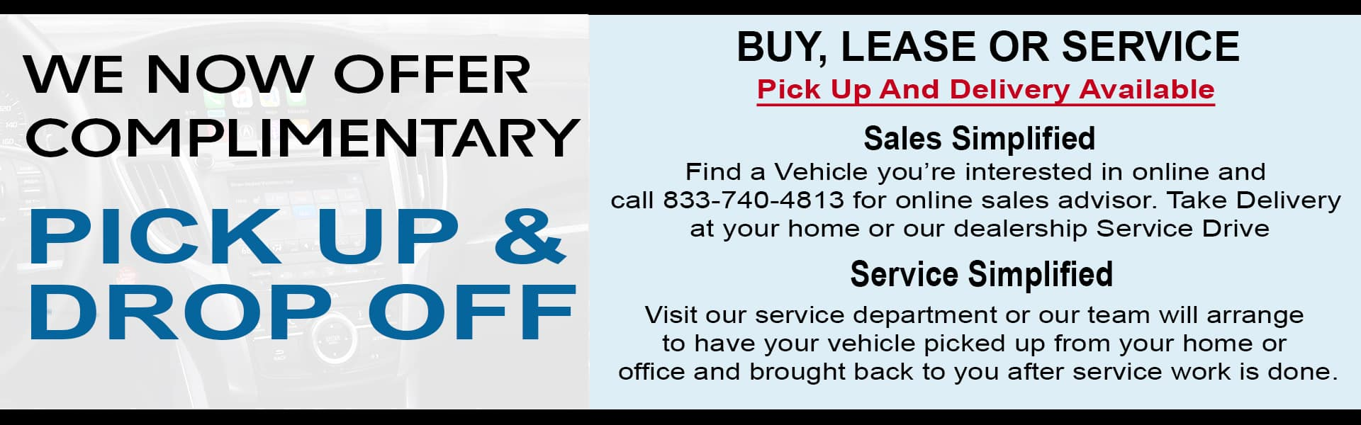 Acura Delivery Services
