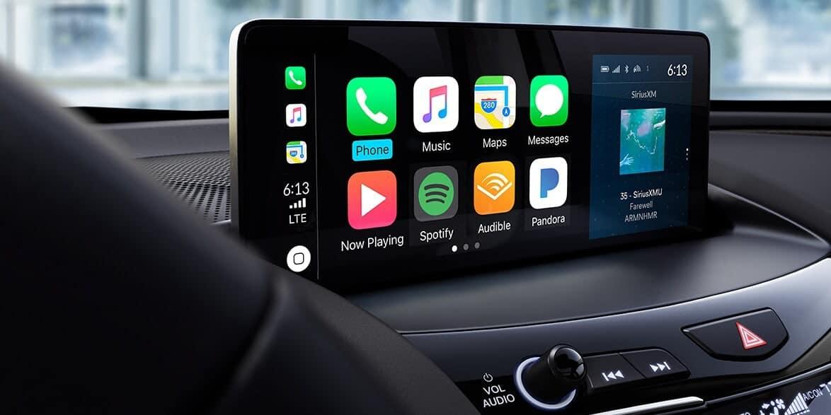2020 Acura RDX touchscreen display