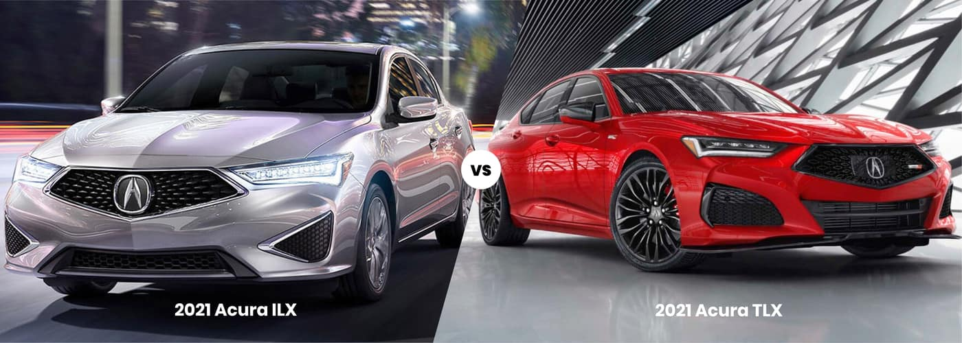 2021 Acura ILX vs. 2021 Acura TLX