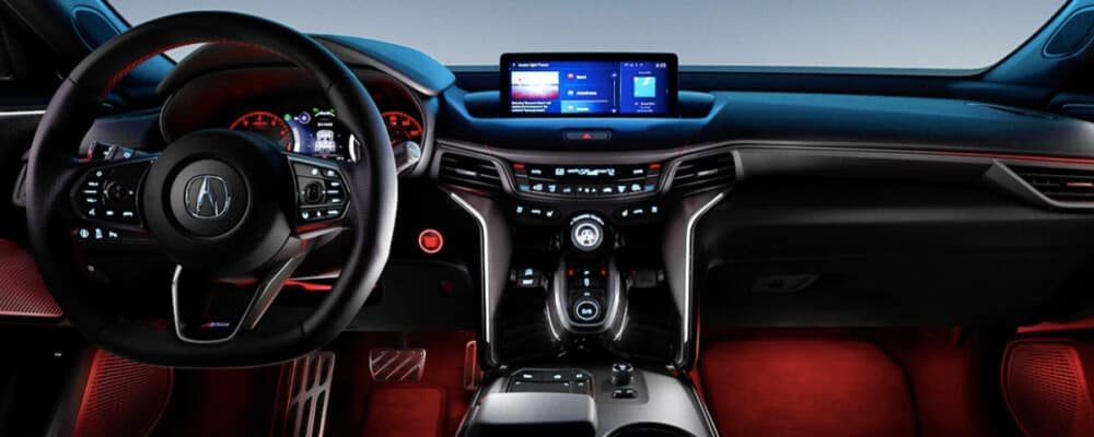 2021 Acura TLX interior technology package