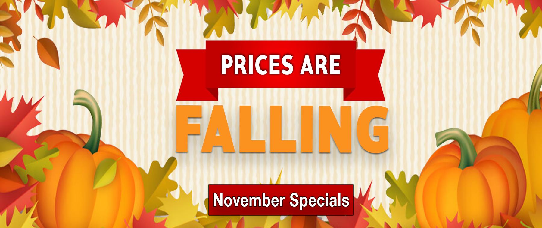 November Specials