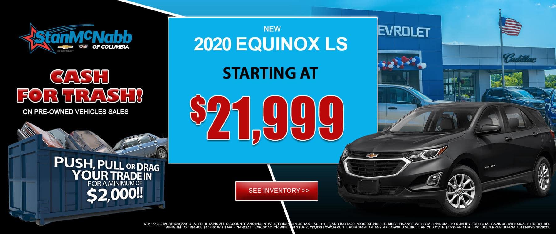 2020 equinox ls
