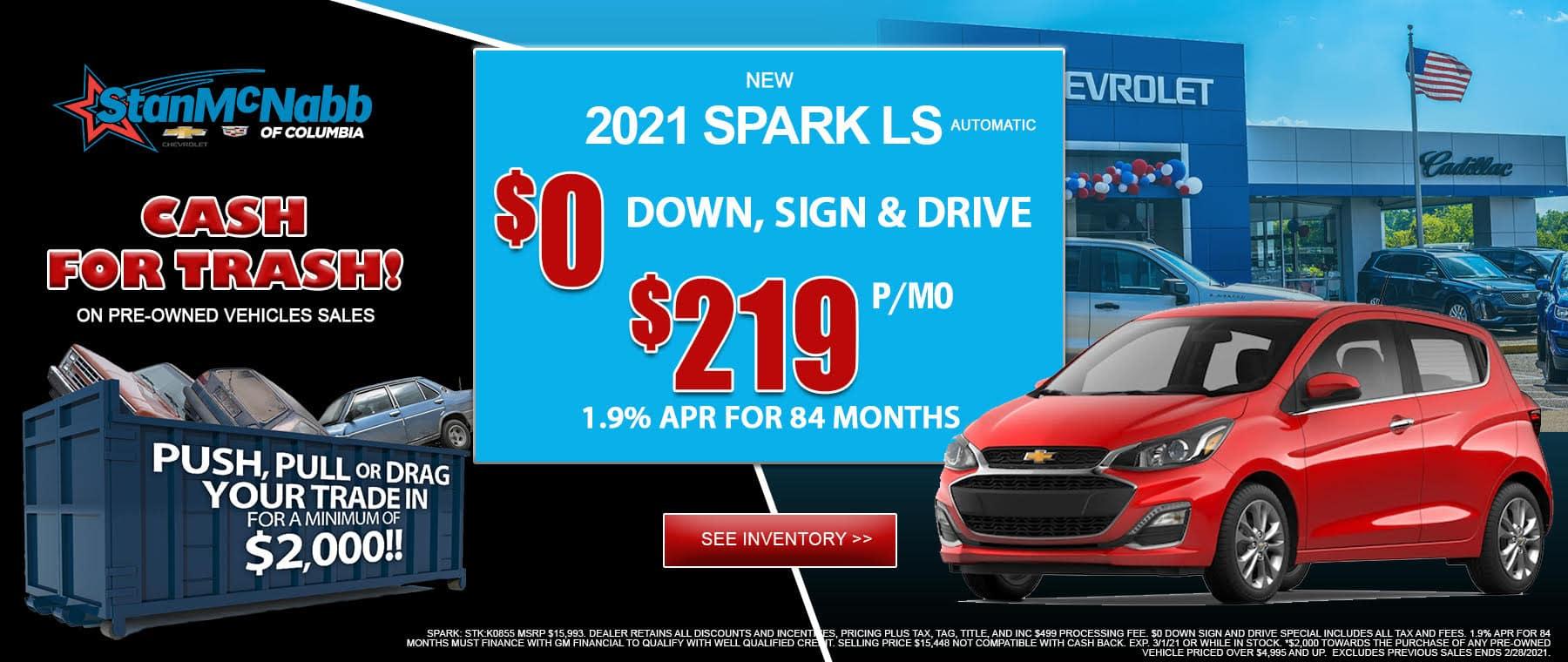 2021 spark ls