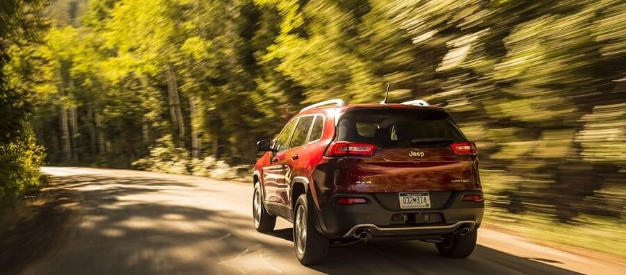 2018 Jeep Cherokee in Velvet Red