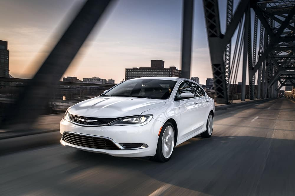 2017 Chrysler 200 Bright White