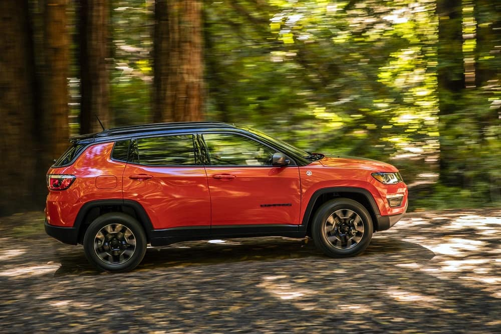 2017 Jeep Compass Orange