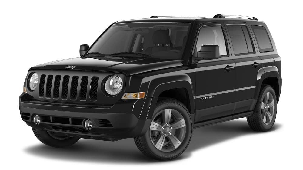 2016 Jeep Patriot Black