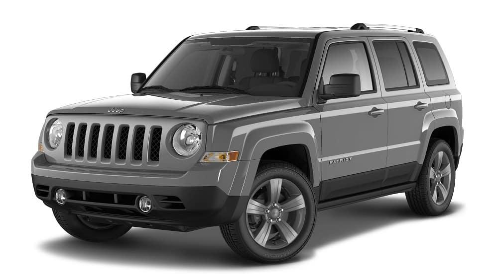 2016 Jeep Patriot Silver