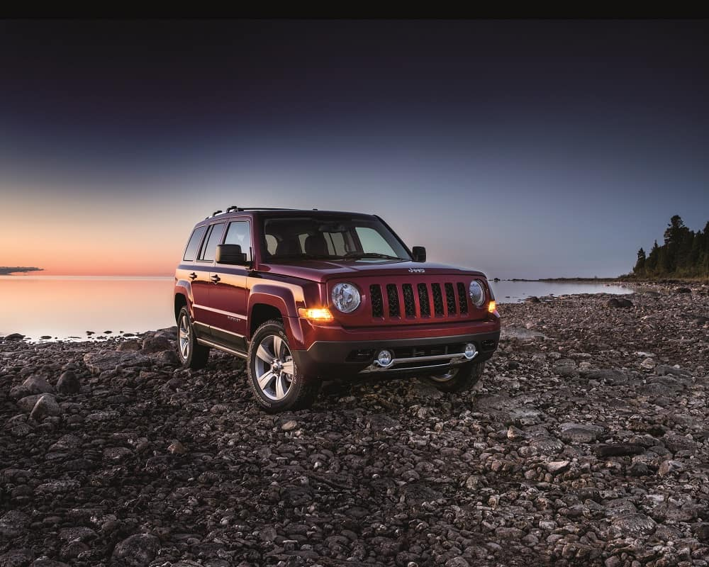 2017 Jeep Patriot Deep Cherry Red
