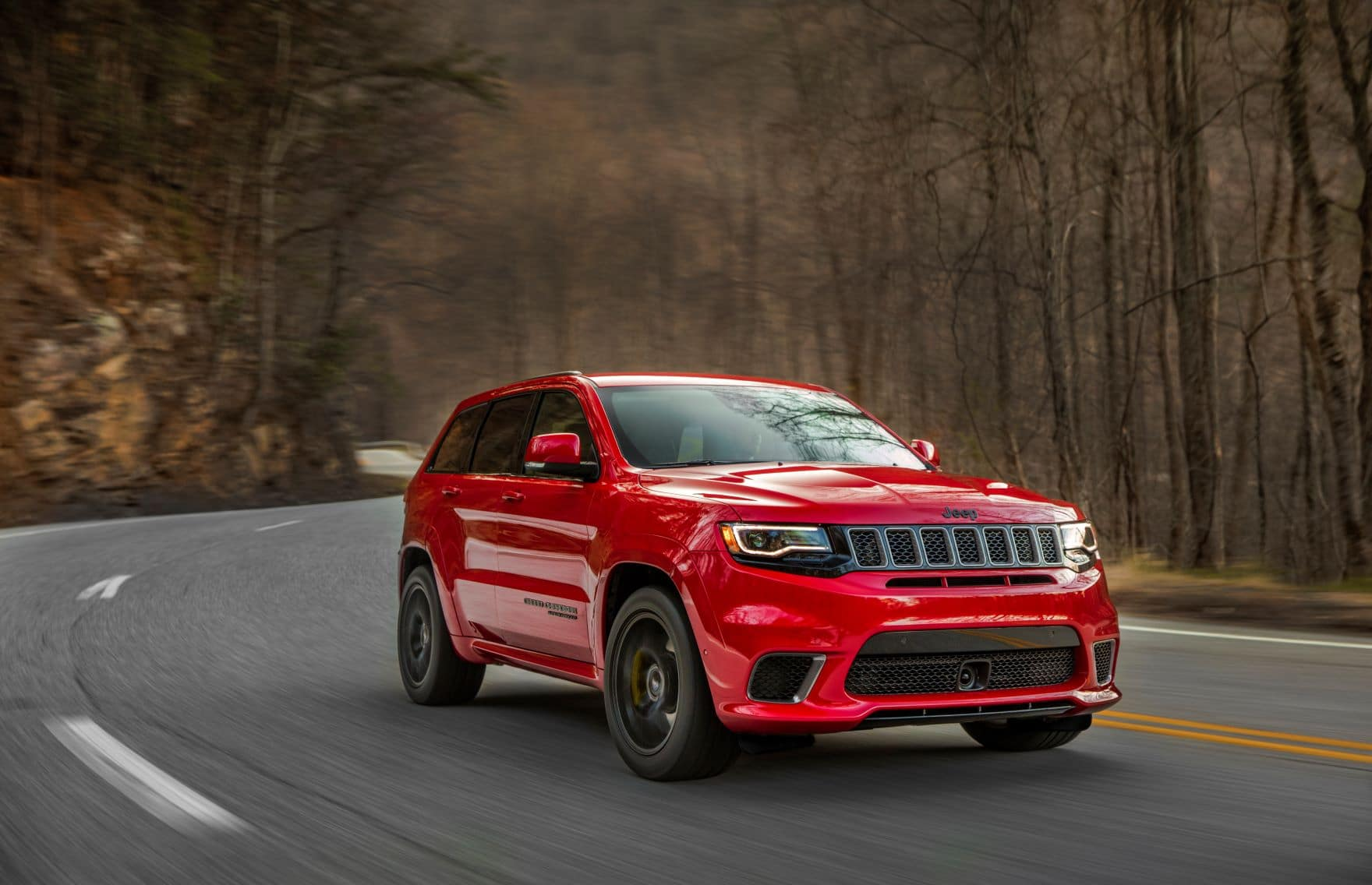 Jeep Grand Cherokee Towing Capacity. 2018 Grand Cherokee Red
